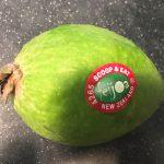 フェイジョア(Feijoa)というフルーツの味・栄養価・食べ方