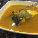 マレーシアの魚×ドリアン = Ikan Patin Tempoyak(イカンパティンテンポヤック)